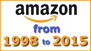 Amazon.com from 1998 to 2015 Memories