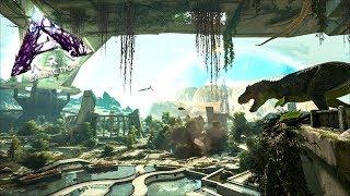 МАТ! ARK: Extinction - Встреча с ТЭК РЕКСОМ в самом начале! (АРК Вымирание)
