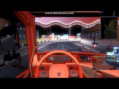 ETS2 virtual trucking trip from Lublin PL to Birmingham UK