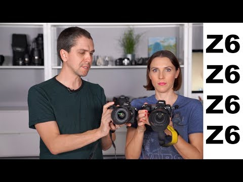 The Nikon Z6 is in the lab! The Raymond Show