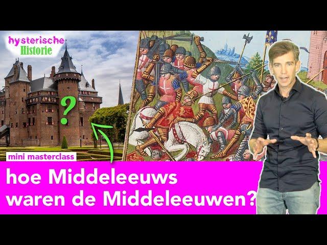 Mini-masterclass: VIJF grootste mythes over de Middeleeuwen