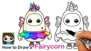 How to Draw a Fairycorn   Fall Guys