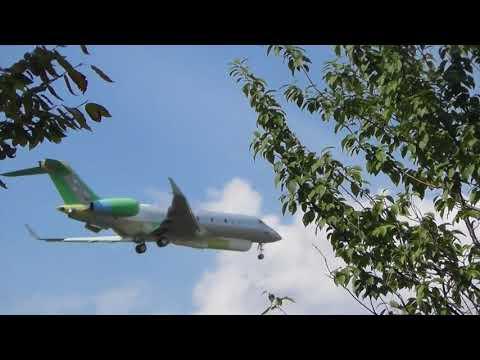 aviation 1326 UAE United Arab Emirates Modified Global Express lands Cambridge UK 1sep17 326p