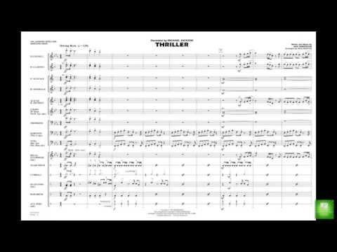 Thriller by Rod Temperton/arr. Paul Murtha