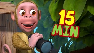 Bandar Mama - The Monkey Song   Bengali Rhymes for Children   Infobells