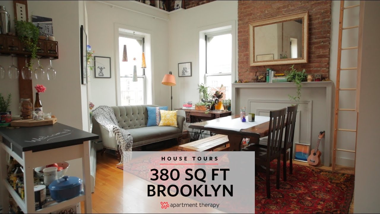 380 Square Feet House Tours Apartment Therapy Youtube