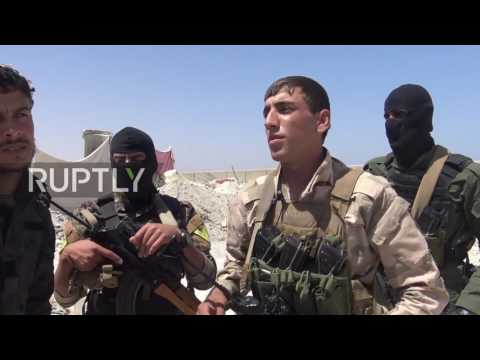 Syria: US-backed SDF forces capture Al-Tabqa dam from IS