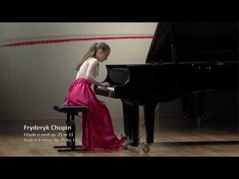 """F. Chopin : Etude Op.25 no.11 """"Winter Wind"""""""