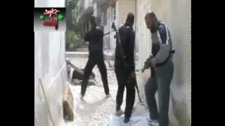 18+ not for shock! Terrorist of FSA gets blown to pieces :)))