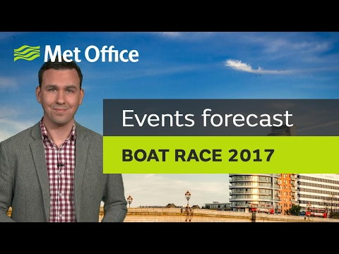 Boat Race 2017 latest weather forecast