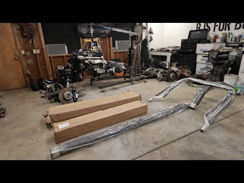 The New 240z Tube Frame Chassis Has Arrived!