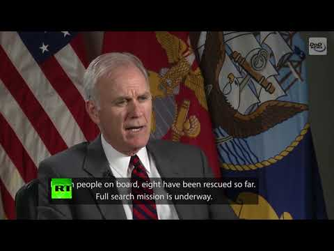 US Navy Secretary comments on airplane crash