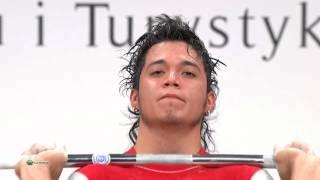 BERNA GONZALEZ Carlos Andres 1j 150 kg cat. 56 World Weightlifting Championship 2013