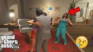 GTA 5 - What Happens if Amanda CATCHES MICHAEL