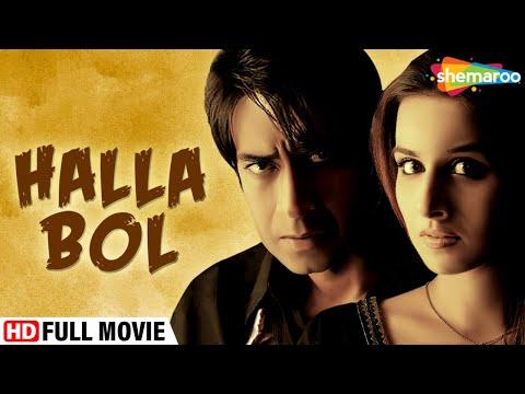 Halla Bol (HD) (2008) - Hindi Patriotic | Full Movie | Ajay Devgan | Vidya Balan