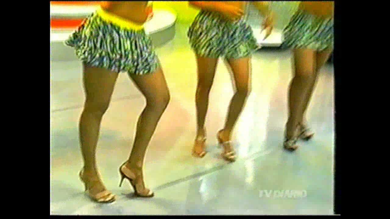 Especial Dançarinas do Programa do Jacaré/SAMBA/ 2008 TV diário
