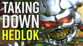 Taking Down Hedlok - ARMS - Nintendo Switch