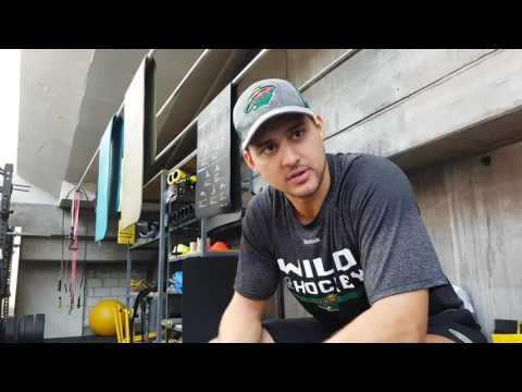 Nino Niederreiter Sommertraining 2016