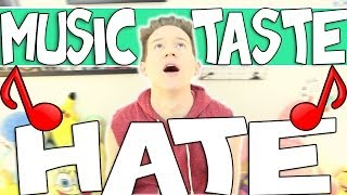 MUSIC TASTE HATE | RICKY DILLON