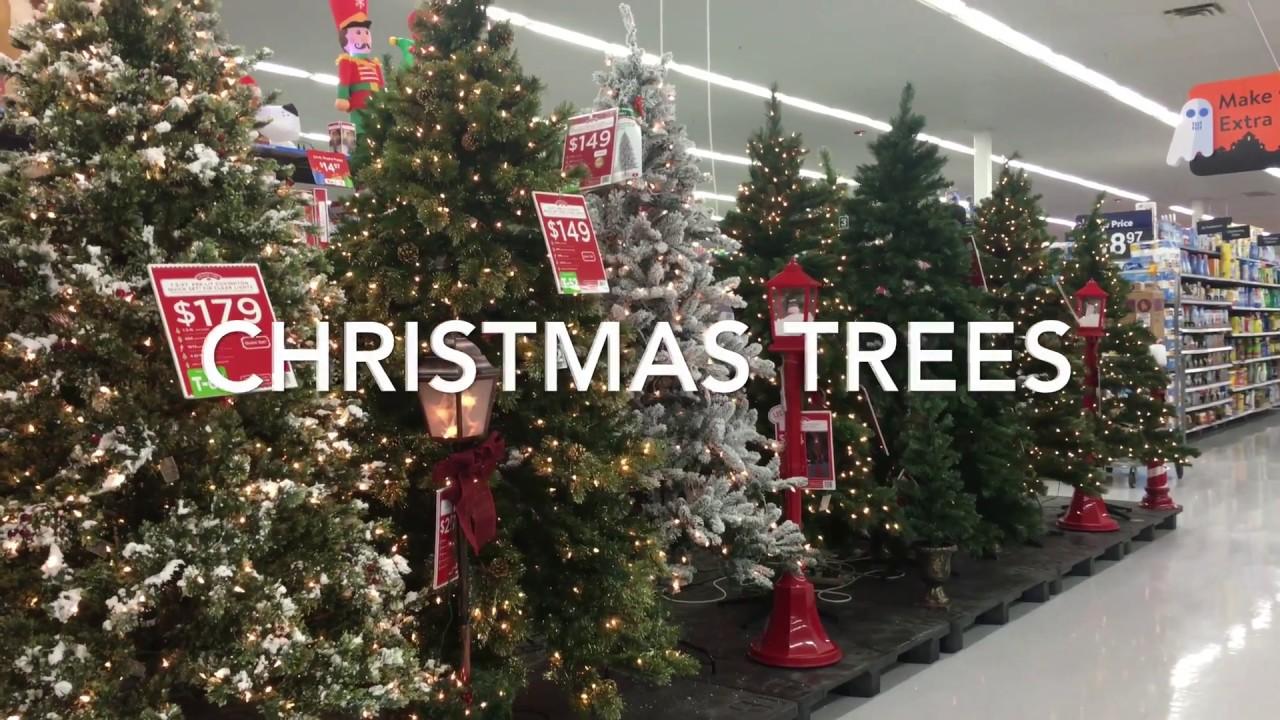 Christmas Tree Display At Walmart
