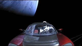 Unseen Footage of SpaceX Starman Launch (Elon Musk interview)