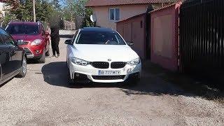 M-AM TREZIT CU UN BMW SERIA 4 IN CURTE   Al CUI E?