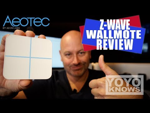 Aeotec WallMote Review |  Z-Wave Smart Home Automation