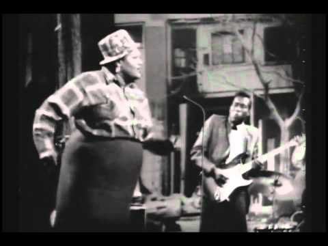 Big Mama Thornton (with Buddy Guy) -Hound Dog (Video)
