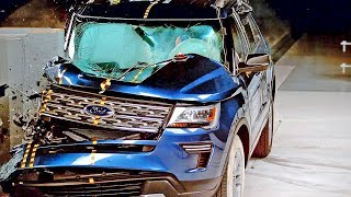 Ford Explorer 2018 Bad Result to Crash Test смотреть