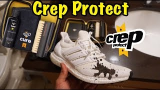 How To Clean Adidas Ultra Boost Crep Protect Cure Review