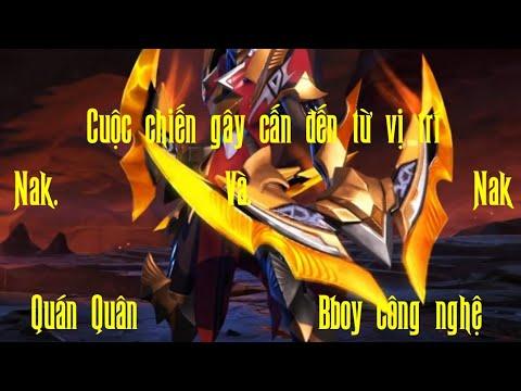 Màng solo của 2 Cao Thủ| Nak Quán Quân và Nak Bboy Công Nghệ