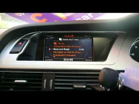 How to import music into the Audi MultiMedia Interface Jukebox/HDD