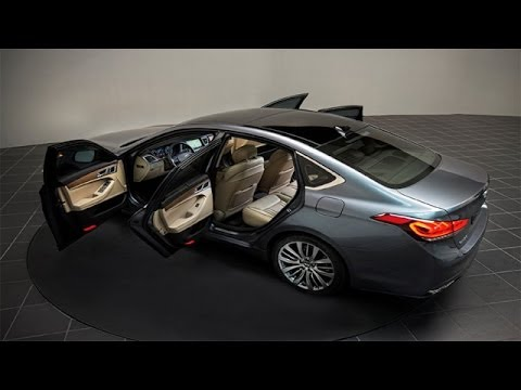 2015 Hyundai Genesis Sedan Exterior and Interior