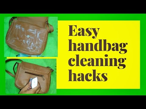 Easy handbag cleaning hacks you need in your life