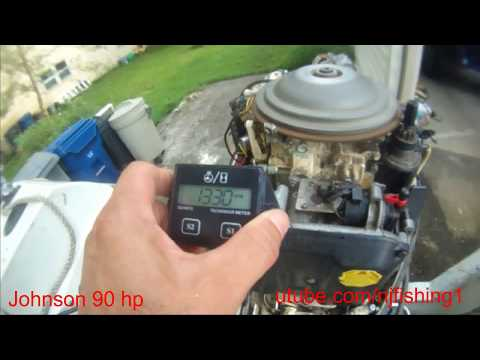 How to quick clean my carburetor Johnson 90 hp 2 stroke?