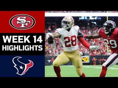 49ers vs. Texans | NFL Week 14 Game Highlights