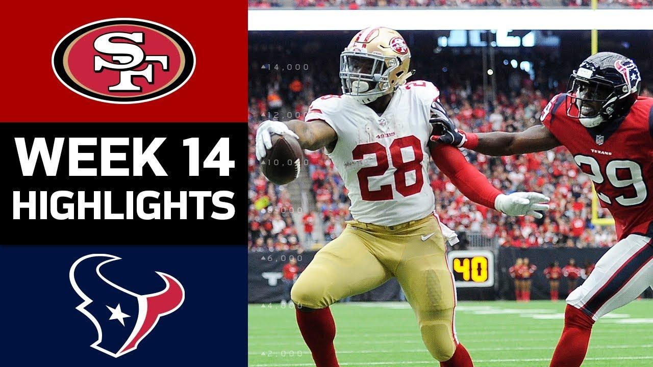 49ers vs texans nfl week 14 game highlights youtube 49ers vs texans nfl week 14 game highlights voltagebd Gallery