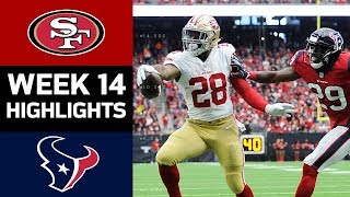 49ers vs. Texans | NFL Week 14 Game Highlights