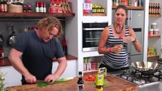 Good Chef Bad Chef Ep44 -tofu, Miso & Coriander Stir Fry