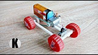 як зробити саморобну машину з мотором