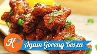 Resep Ayam Goreng Korea | SHERLA APRILIA