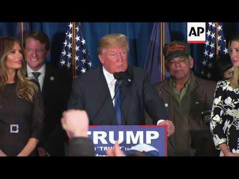 Trump Wins New Hampshire GOP Primary