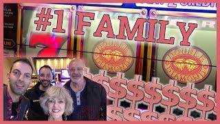 👫👬My Family is #1 in SLOTS!🎊🎰🎉 ✦ Slot Machine Pokies w Brian Christopher