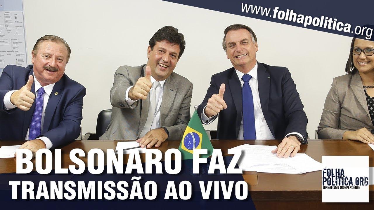 URGENTE: Presidente Bolsonaro faz importantes esclarecimentos em transmissão ao vivo - 30/05/2019