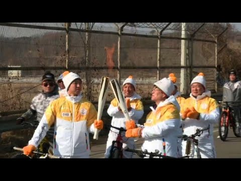 Corée du Sud: la flamme olympique près de la Zone démilitarisée