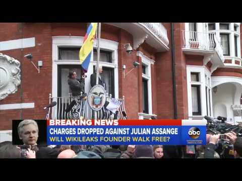 Sweden Drops Julian Assange Rape Investigation