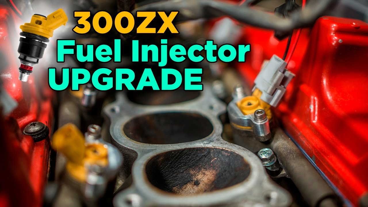 Upgrading Nissan 300ZX Fuel Injector