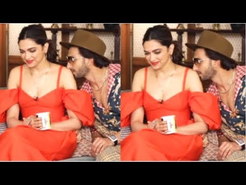 Deepika Padukone BLUSHES After Ranveer Singh K!SSES Her In ...