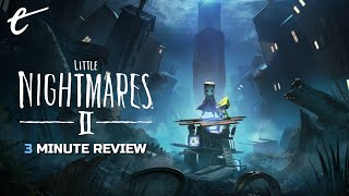 Little Nightmares 2 | Review in 3 Minutes (Video Game Video Review)