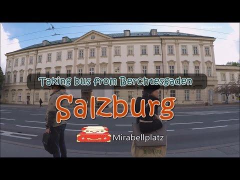 [เที่ยวยุโรป] Taking bus from Berchtesgaden to Salzburg (Mirabellplatz) : Austria Travel Vlog Ep.85
